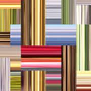Stretch Of Colors Art Print