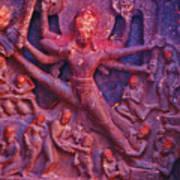 Striding Vishnu Art Print