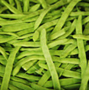 String Bean Heaven Art Print