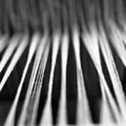 Strings In A Loom Art Print