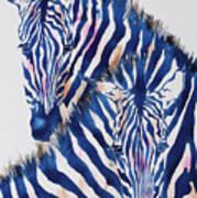 Striped Love Art Print
