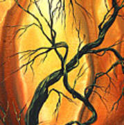 Striving To Be The Best By Madart Print by Megan Duncanson