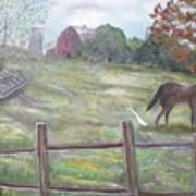 Strobel Farm Art Print