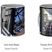 Strong As Steel Coffee Mugs Art Print
