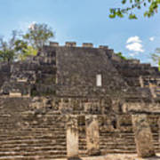 Structure Two In Calakmul Art Print
