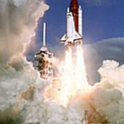 Sts-27, Space Shuttle Atlantis Launch Art Print