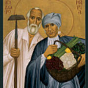 Sts. Isidore And Maria - Rliam Art Print