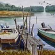 Stuart's Dock  Art Print