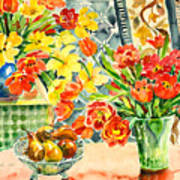 Studio Still Life Art Print
