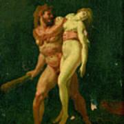 Study For Hercules And Alcestis Art Print