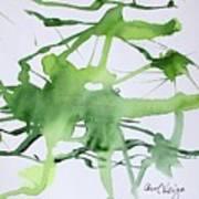 Study In Green Art Print