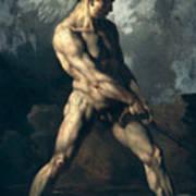 Study Of A Male Nude Art Print
