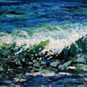 Study Of A Wave Art Print