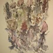 Study Of Flowers T Art Print