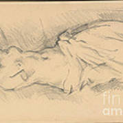 "Study Of ""venus De Milo"" Art Print"
