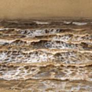 Study Of Waves Art Print