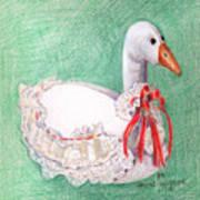 Stuffed Goose Art Print