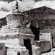 Stupa Art Print