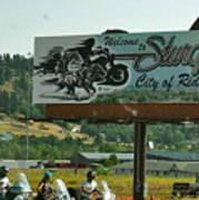 Sturgis City Of Riders Art Print