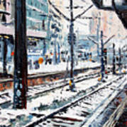 Stuttgart Main Station Art Print