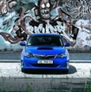 Subaru Art Print