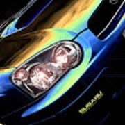 Subaru Impreza  Art Print