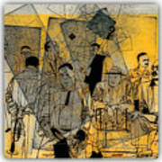 Submitted Cd Cover For The Band Bebop Complex 50's Jazz Revisited Art Print