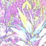 Subtle Leaf Art Print