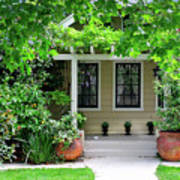 Suburban House Hayward California 17 Art Print