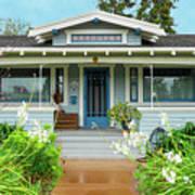 Suburban Arts And Crafts House Hayward California 8 Art Print