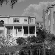 Suburban House On Hayward Boulevard Hayward California 2 Art Print