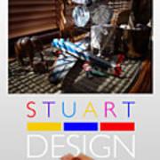 Suburban Safari Poster Art Print