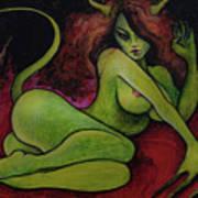 Succubus Art Print By Dori Hartley
