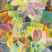 Succulent Mirage 1 Art Print