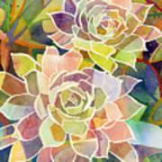 Succulent Mirage 2 Art Print