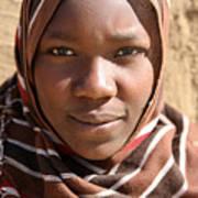 Sudanese girl Art Print