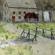 Sudbury Gristmill Art Print