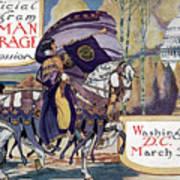 Suffragette Parade, 1913 Art Print