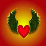 Sufi Heart I Art Print