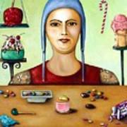 Sugar Addict Art Print