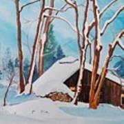 Sugar Bush Ripon Quebec Art Print