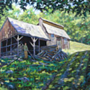 Sugar Shack In July Art Print