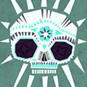 Sugar Skull IIi Art Print