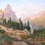 Sugarloaf Peak Eldorado California Art Print