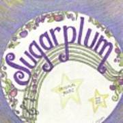 Sugarplum Logo Art Print