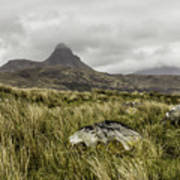 Suilven Mountain Art Print