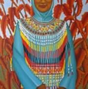 Sulawesi Girl Art Print