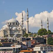 Suleymaniye Camii Art Print