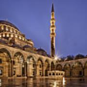 Suleymaniye Mosque Art Print
