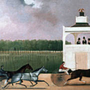 Sulky Race Art Print